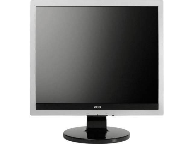 AOC E719SD Silver,Matte Black,Black Hairline 17