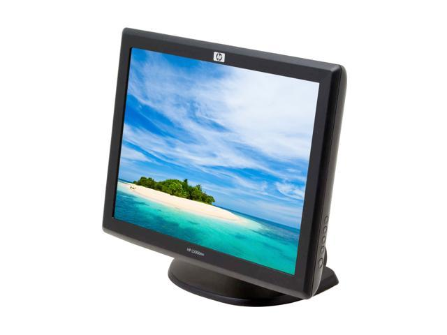 """HP L5006tm Carbon 15"""" Dual serial/USB Surface Acoustic Wave Touchscreen LCD Monitor 230 cd/m2 400:1"""
