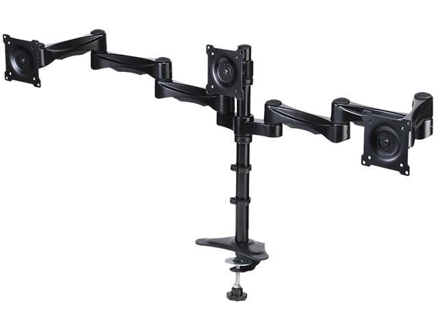 DoubleSight DS-324PS Triple Monitor Flex Arm Swing Style 30 inch Monitor
