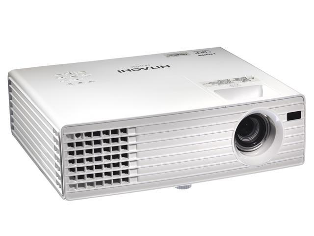 Hitachi CP-DX250 1024x768 XGA 2500 ANSI Lumens, 5 Wall Color Modes, HDMI / Dual VGA inputs, 3D Ready w/ Image Care Technology DLP Projector