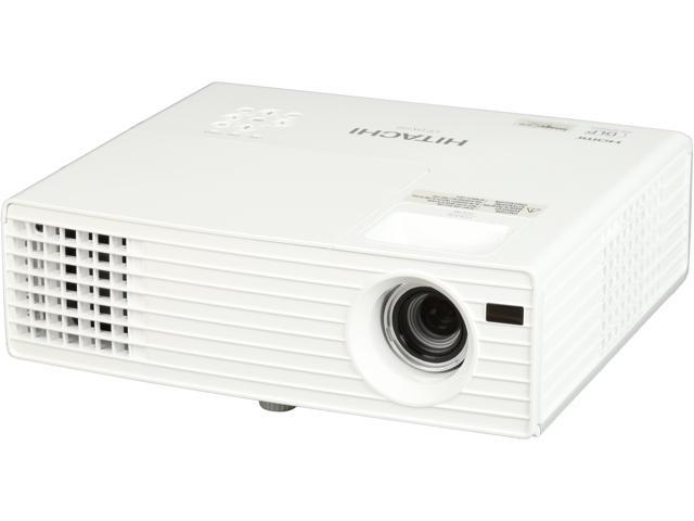 HITACHI CPDX250 1024 x 768 2500 ANSI Lumens (Normal Mode)/2100 ANSI Lumens (Eco Mode) LCD Projector 2500:1