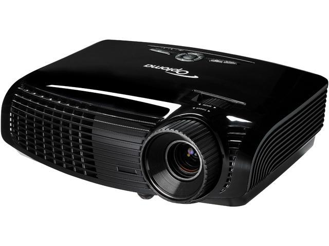 Optoma DH1011 1920x1080 FHD 3000 ANSI Lumens, 16:9 Aspect Ratio, Built In Speakers, Dual HDMI / Dual VGA Inputs, Kensington Lock, 3D Ready DLP ...