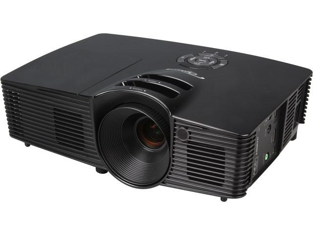 Optoma HD141X 1920x1080 FHD 3000 ANSI Lumens, 16:9 Aspect Ratio, Dual HDMI / MHL Input, Built In Speakers, Audio Output, 3D Ready Cinematic DLP ...