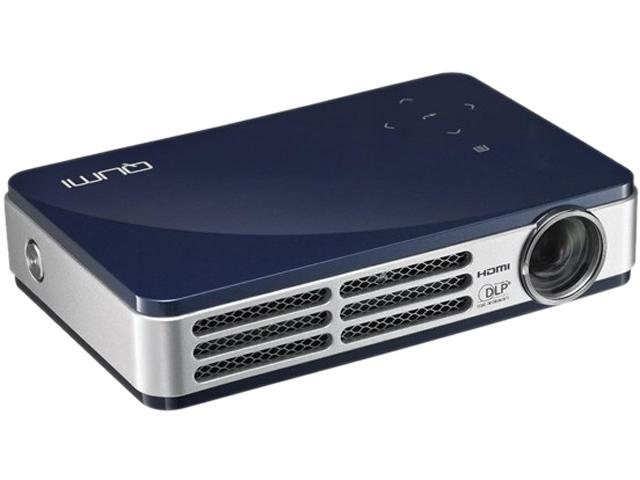 Vivitek Q5-BL 1280 x 800 Up to 500 Lumens HD Pico DLP Technology by Texas Instruments LED Pocket Projector 10,000:1