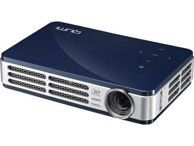 Vivitek Q5-BL 1280 x 800 Up to 500 Lumens HD Pico DLP Technology by Texas Instruments LED Pocket Projector 10,000:1