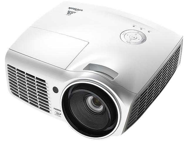 Vivitek D803W-3D 1280 x 800 3600 Lumens (Typical) DLP A High-Performace Digital 3D Projector 15,000:1 (Full On/Off)