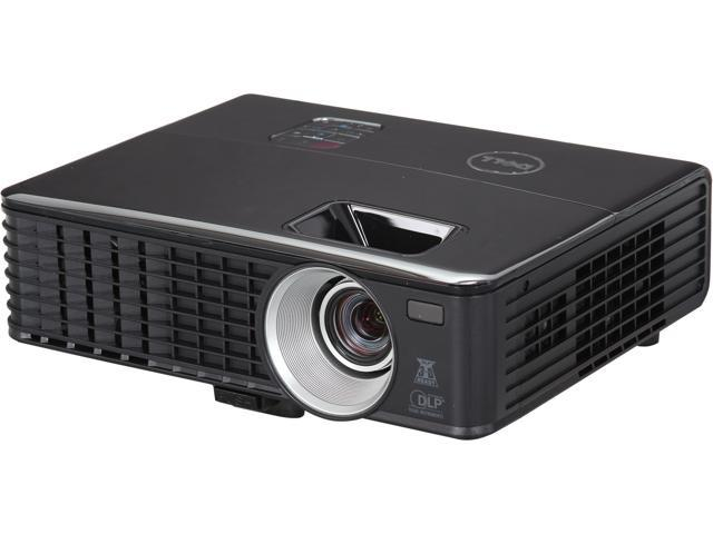 Dell 1430X 1024x768 XGA 3200 ANSI Lumens, Dual VGA Inputs, Kensington Security lock, Easy lamp access, 3D ready DLP Projector