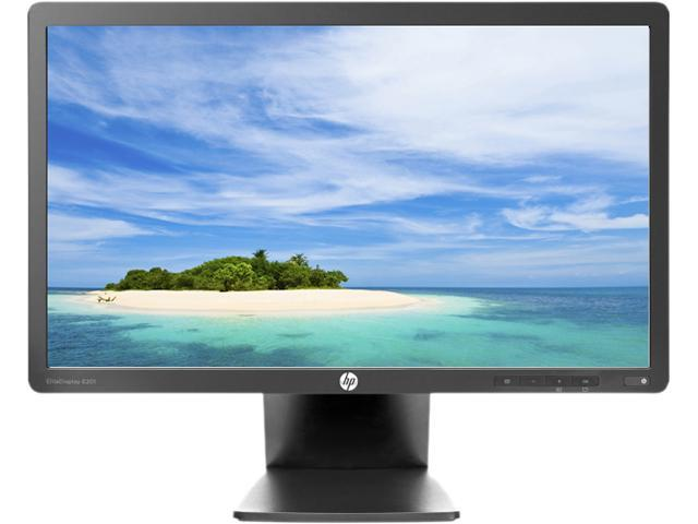 "HP Black 20"" 5ms LED Backlight LCD Monitor Built-in Speakers"