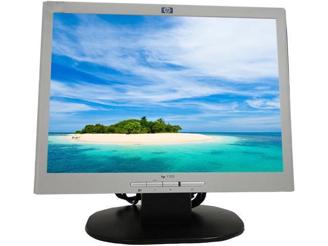 Refurbished: HP Tilt Flat LCD Monitor L1702 17'' 450:1 300cd/m2