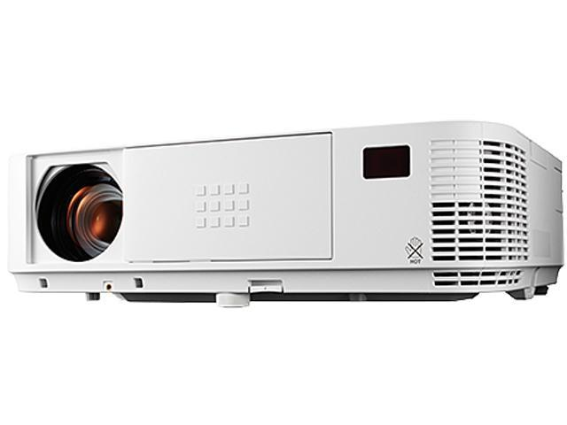 NEC NP-M322W 1280x800 WXGA 3200 ANSI Lumens, Dual HDMI Inputs, LAN Control/Display (Crestron RoomView), DICOM Simulation Tech, Keystone ...