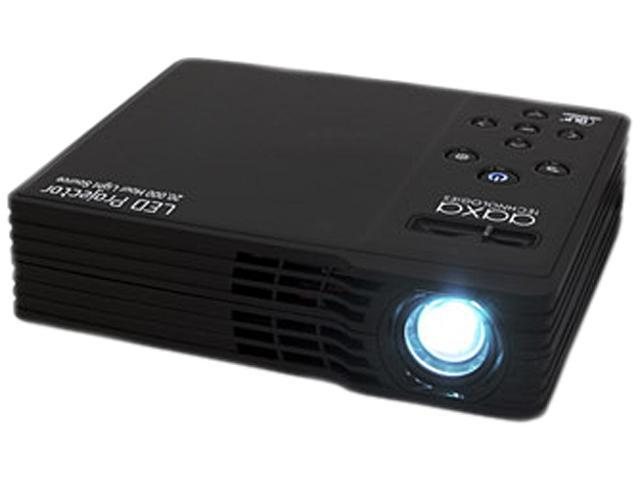 AAXA LED Showtime 3D LED Home Theater Projector with 1280x800 Native Resolution, HDMI and Full VGA, 20,000 hour LED life