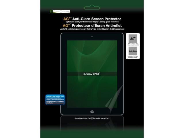 Green Onions Supply AG+ Anti-Glare Screen Protector for iPad with Retina Display (3rd and 4th Generations, 2012) and iPad 2 (RT-SPIPAD302HD)