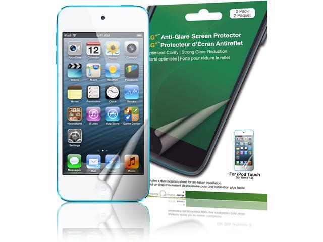 Green Onions Supply AG+ Anti-Glare Screen Protector for iPod touch, 5th Generation (2-Pack)