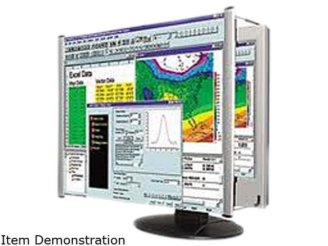 Kantek LCD20WSV LCD Protect Deluxe Privacy Filter Fits Widescreen 19