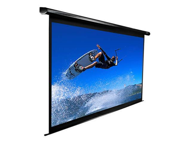 EliteSCREENS VMAX110UWH2 VMAX2 Ceiling/Wall Mount Electric Projection Screen (110