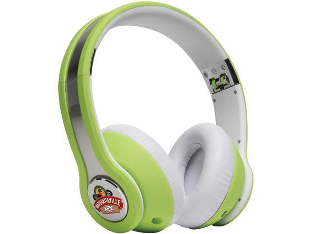 Margaritaville Lime MIX1 LIME 3.5mm Connector On-ear Monitor Headphones With Microphone (margarita Lime)