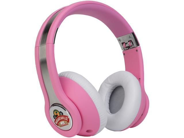 Margaritaville Pink MIX1 PINK 3.5mm Connector On-ear Monitor Headphones With Microphone (conch Pink)