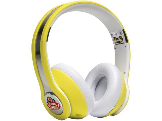 Margaritaville Yellow MIX1 YELLOW 3.5mm Connector On-ear Monitor Headphones With Microphone (havana Banana)