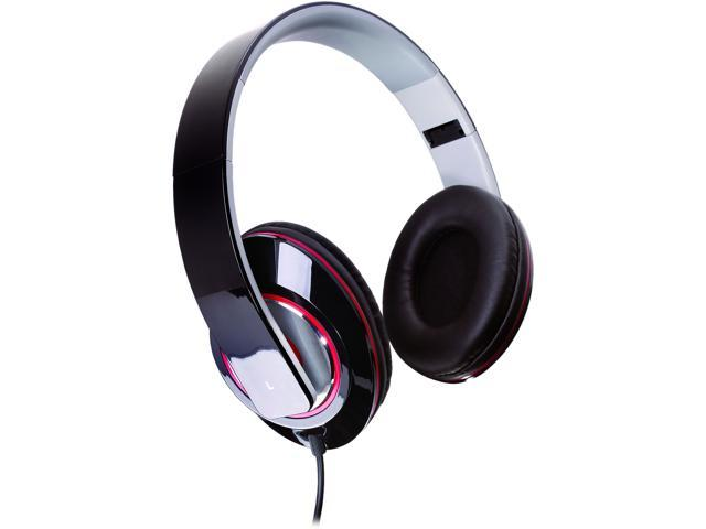 Sunbeam Black SBF-2012 Stereo Bass Foldable Headphones - Black