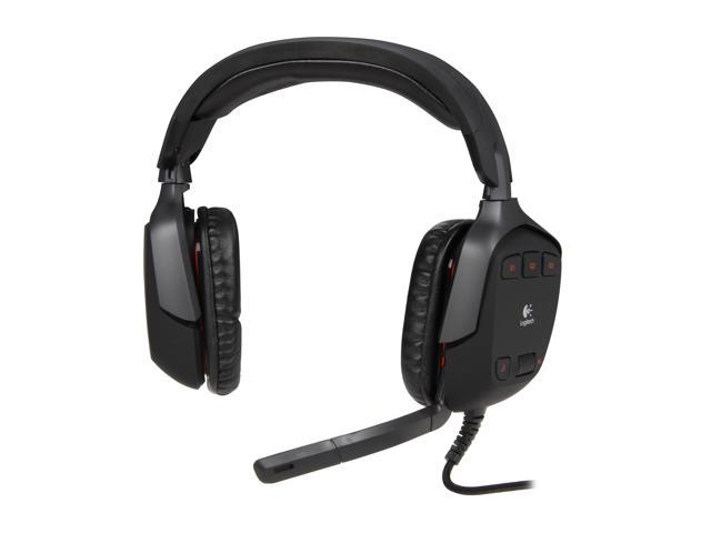 Logitech G35 USB Connector Circumaural Surround Sound Headset