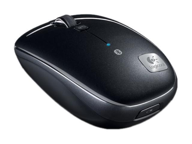 Logitech M555b Black 3 Buttons Tilt Wheel Bluetooth Wireless Laser 1000 dpi Mouse