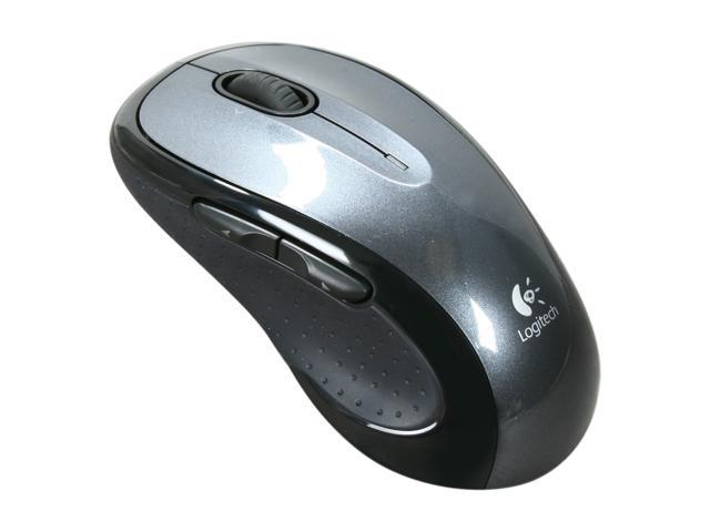 Logitech M510 Black 5 Buttons Tilt Wheel USB RF Wireless Laser Mouse
