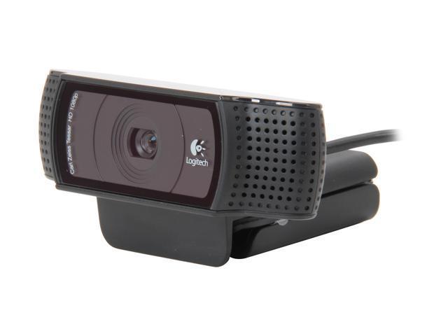 Logitech C920 USB 2.0 certified (USB 3.0 ready) HD Pro Webcam