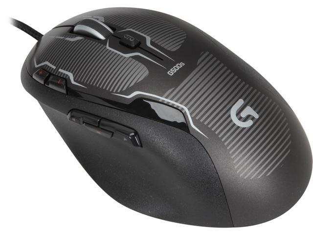Logitech G500S 910-003602 10 Buttons 1 x Wheel USB Wired Laser 8200 dpi Gaming Mouse