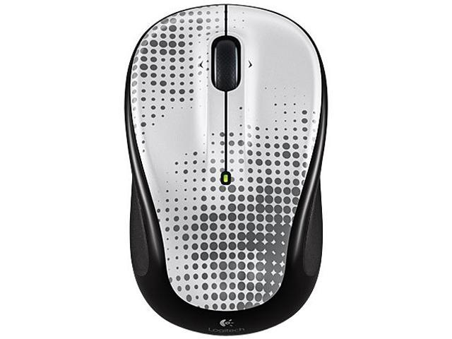 Logitech M325 910-004164 USB RF Wireless Mouse Pewter
