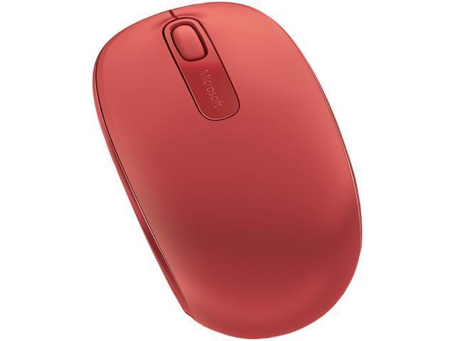 Microsoft Wireless Mobile Mouse 1850, Red (U7Z-00031)