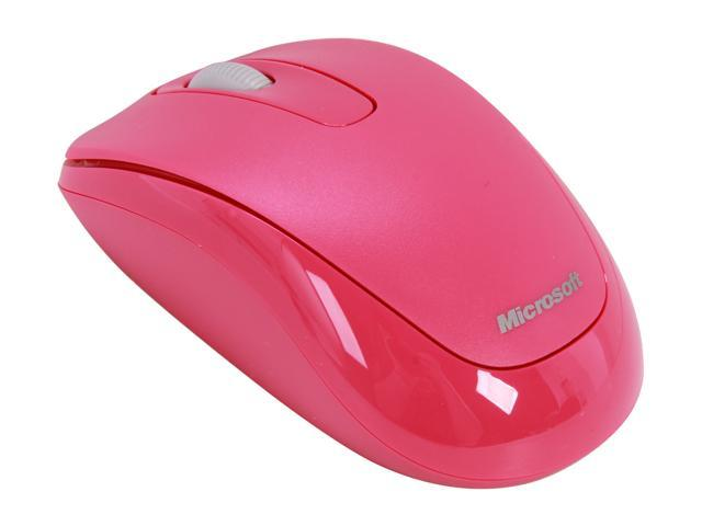 Microsoft L2 Mobile Mouse 1000 2CF-00036 Magenta Pink USB RF Wireless Mouse