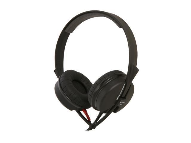 Sennheiser HD 25-SP II 3.5mm/ 6.3mm Connector Supra-aural Closed DJ Headphone with Noise Reduction