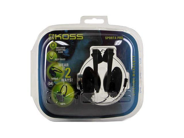 KOSS 144667 3.5mm/ 6.3mm Connector SPORTAPRO Portable Headphone