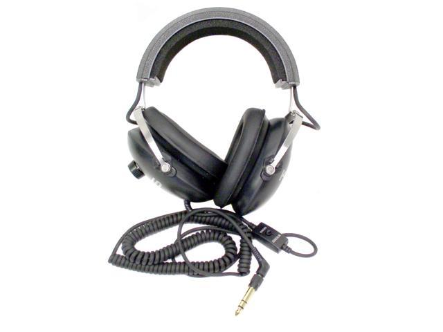 KOSS Black QZ-99 3.5mm/ 6.3mm Connector Circumaural Headphone