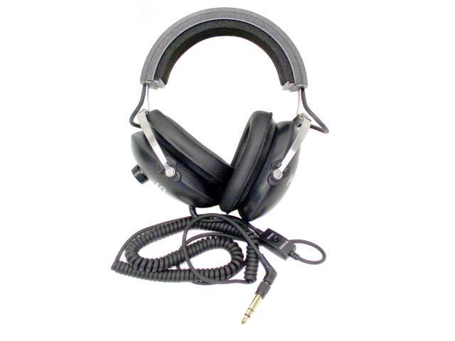 KOSS Black QZ-99 3.5mm/ 6.3mm Connector Circumaural Headphone