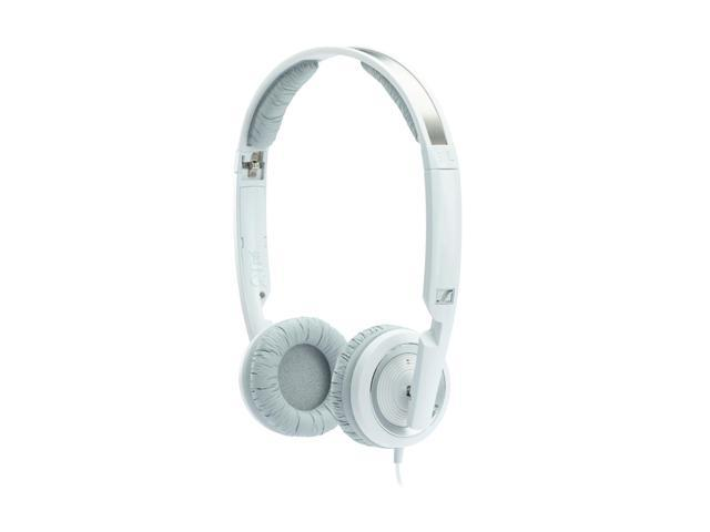 Sennheiser White PX 200-II 3.5mm Connector On-Ear Foldable Headphone - White