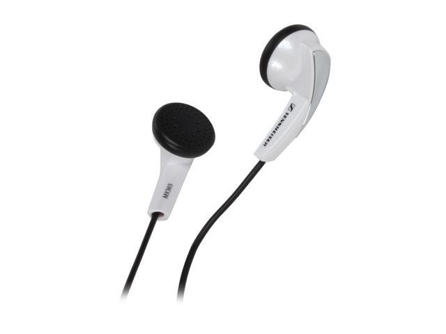 Sennheiser White MX 365 3.5mm Connector Earbud Headphone (White)