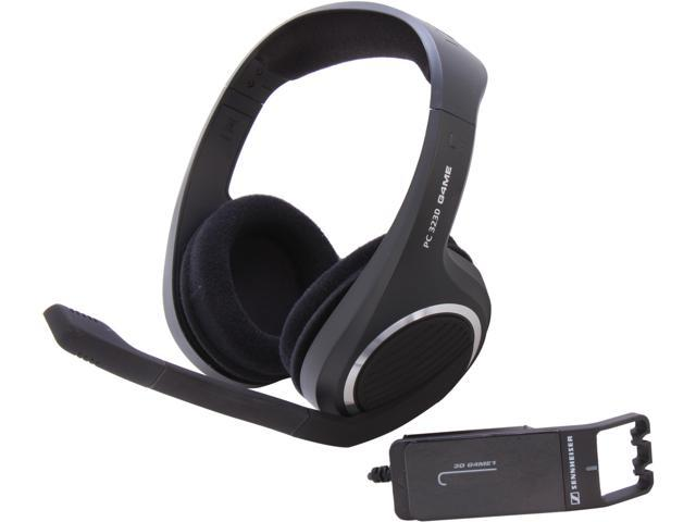 SENNHEISER PC 323D 3.5mm/ USB Connector Circumaural Headset