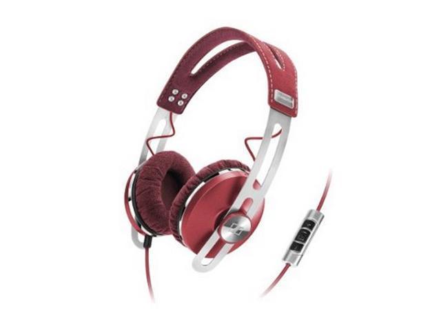 Sennheiser Red MOMENTUMRed Around Ear Headphone