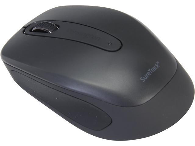 Kensington SureTrack K72437AM Black 3 Buttons 1 x Wheel Bluetooth Wireless Optical Mouse
