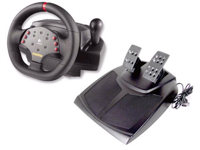 Logitech 963282-0403 MOMO Racing Force Feedback Wheel