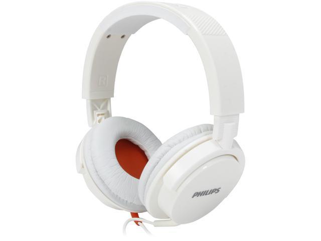 PHILIPS White SHL3105WT/00 DJ monitor style White Headband headphone