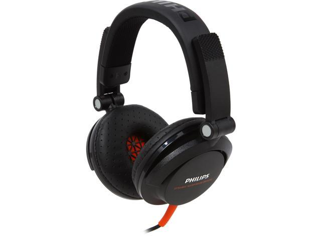Philips SHL3300 DJ Over-Ear Headphones - Black