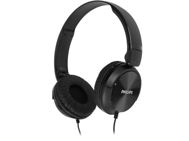 PHILIPS Black SHL3060 3.5mm Connector DJ Style Headphones