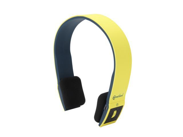 Syba CL-AUD23038 Bluetooth v2.1 EDR Stereo Headset with Microphone - Yellow/Black
