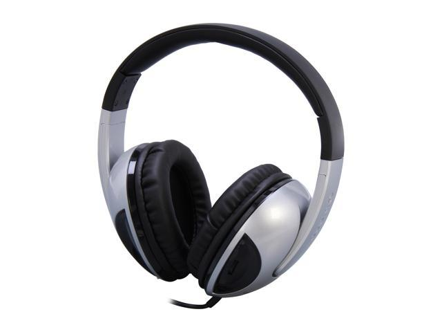 SYBA OG-AUD63050 3.5mm Connector Circumaural Oblanc COBRA Deep Bass Subwoofer 2.1 Stereo Headphone with Built-in Battery, Twin Volume & Bass ...