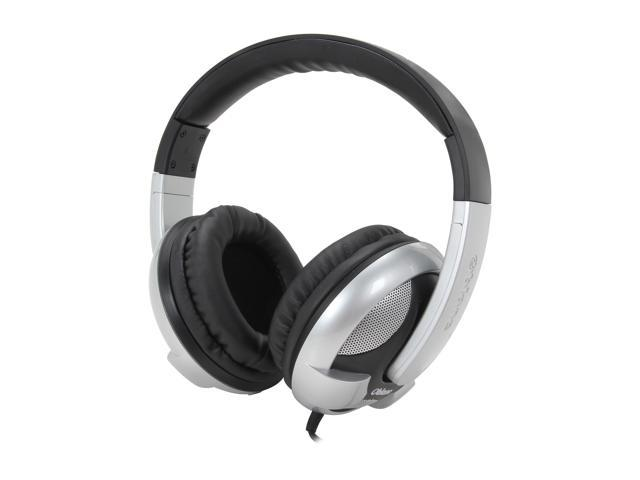 SYBA OG-AUD63053 3.5mm Connector Circumaural Oblanc U.F.O. Subwoofer 2.1 Professional Stereo Headphones with Built-in Battery, Twin Volume & Bass ...