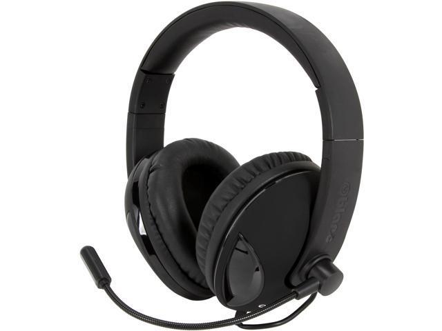 SYBA Cobra Black OG-AUD63065 COBRA510 NC2 5.1 Surround Sound Stereo Headphone with Boom Microphone