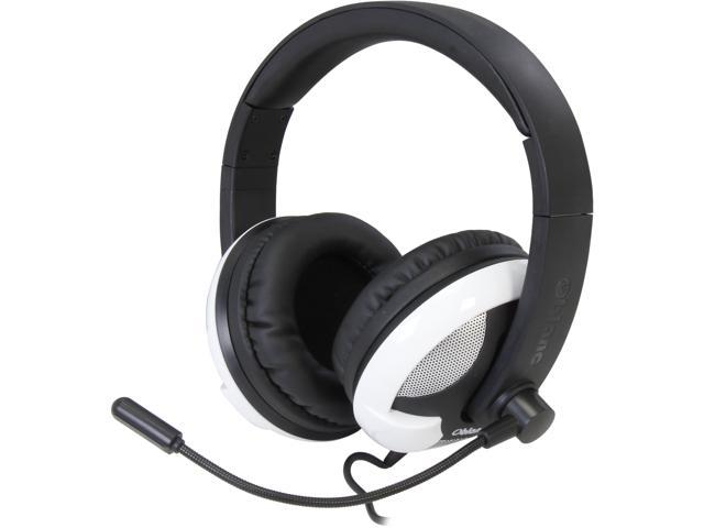 SYBA Black/White OG-AUD63059 UFO510 NC2 5.1 Surround Sound Stereo Headphone with Boom Microphone
