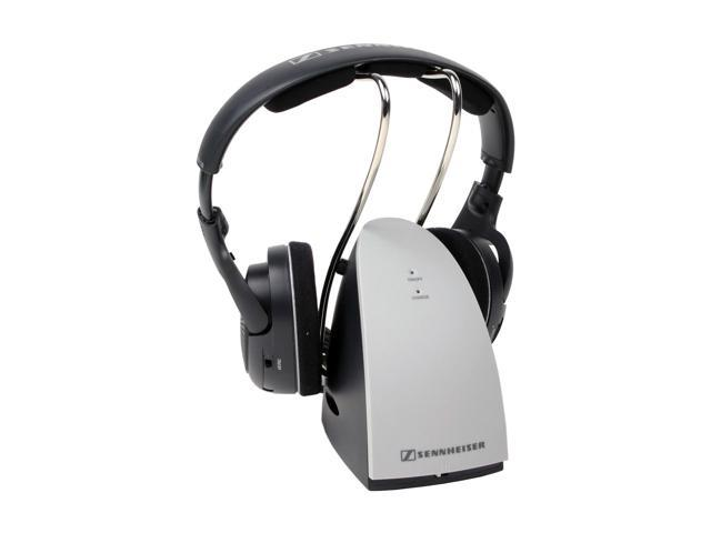 Sennheiser Silver RS 120 3.5mm/ 6.3mm Connector Supra-aural Wireless RF Hi-fi Headphone